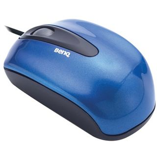 BenQ N300 optisch Notebook Mouse blau