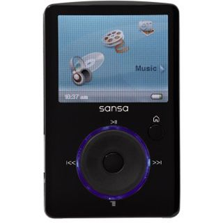 4GB SanDisk Sansa Fuze 4GB MP3 Player + Radio