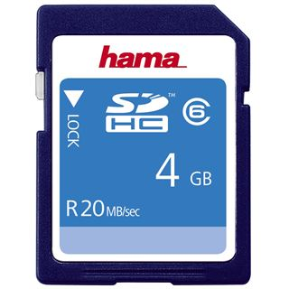 4 GB Hama High Speed SDHC Class 6 Retail