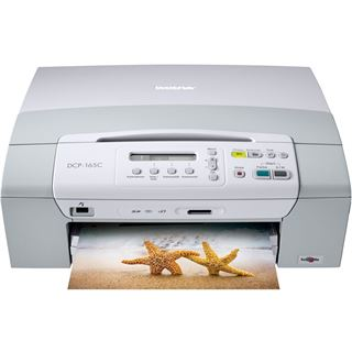 Brother DCP-165C A4 6000x1200dpi Color Tinte MFP U