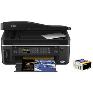 Epson Stylus Office BX600FW Multifunktion Tinten Drucker 5760x1440 WLAN/LAN/USB2.0