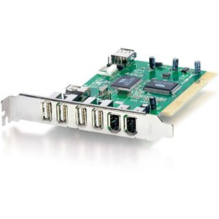 Equip Interf. FireWire+USB 2.0 5 Port +3 int. PCI equip