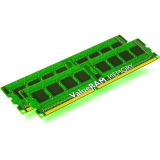 4GB Kingston ValueRAM DDR3-1066 ECC DIMM CL7 Dual Kit