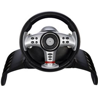 Saitek 4-in-1 Vibration Wheel (PC/PS2/Xbox/PS3)
