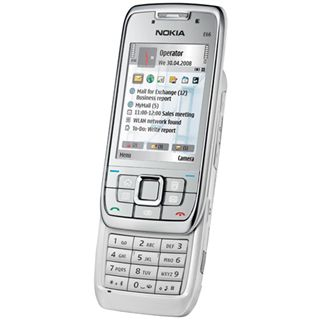 Nokia E66 grey steel (grau)