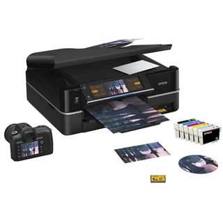 Epson Stylus Photo PX800FW Multifunktion Tinten Drucker 5760x1440dpi WLAN/LAN/USB2.0