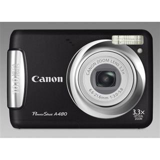 Canon Powershot A480 Black 10MP