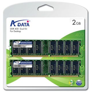 2GB ADATA Value DDR-400 DIMM CL3 Single