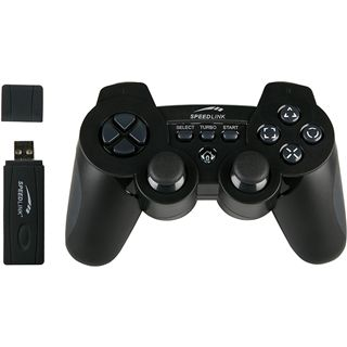 Speedlink SL-4443-SBK Strike³ Gamepad PS3+ PC