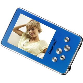 "4GB Intenso Video Driver 2"" (5.1cm) blau MP3/MP4"