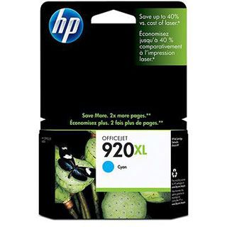 HP Tinte Nr.920XL CD972AE#BGX cyan