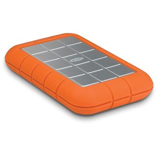 "320GB LaCie Rugged Hard Disk orange/silber 2,5"" (6,35 cm) USB 2.0"
