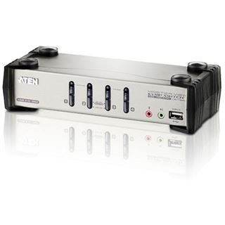 ATEN Technology CS1734B 4-fach VGA-KVM-Switch