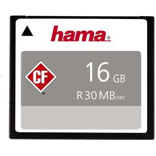 16 GB Hama High Speed Pro Compact Flash TypI 200x Bulk