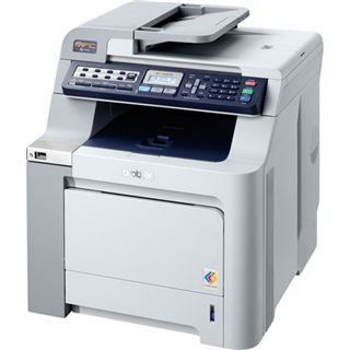 Brother MFC-9450CDN Multifunktion Laser Farb Drucker 2400x600dpi LAN/USB2.0