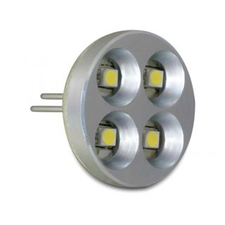 Delock LED G4 4x SMD 1,8W warmweiss Pins hinten