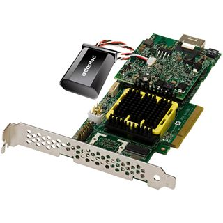 Adaptec RAID 5405Z 1 Port Multi-lane PCIe x8 4GB NAND-Flash/Low Profile bulk
