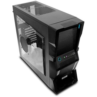 ATX NZXT Pure Black M59 Midi Tower o.NT Schwarz