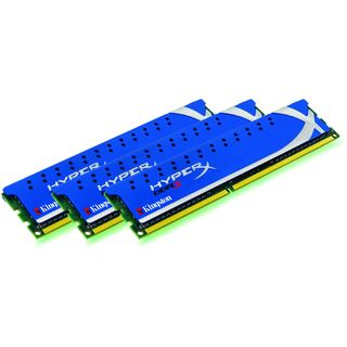 6GB Kingston HyperX DDR3-1600 DIMM CL9 Tri Kit