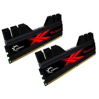 4GB G.Skill Trident DDR3-1600 DIMM CL8 Dual Kit