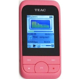 4GB Teac MP3 Player Video pink