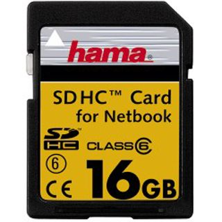 16 GB Hama High Speed Pro SDHC Class 6 Retail