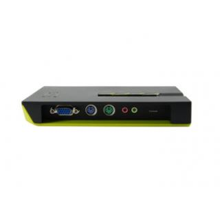 LevelOne KVM-0411 4-fach Desktop KVM-Switch