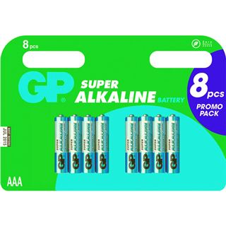 GP Batteries Batterie GP Alkaline AAA