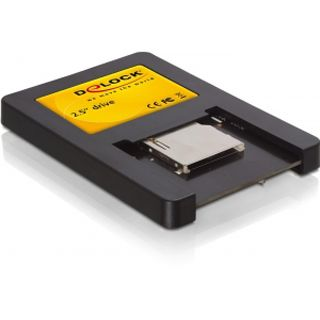 "Delock Card Reader 2.5"" Dual Slot Kartenleser"