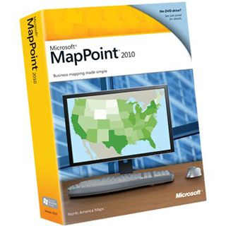 Microsoft MapPoint 2010 D BOX