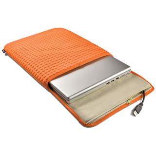 LaCie Coat Laptop Case 43,2cm (17 Zoll) orange