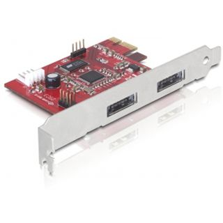Delock 89233 2 Port PCIe x1 retail