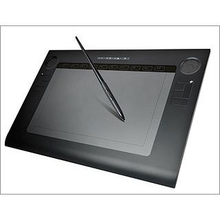 Perixx Grafik-Tablet, PERITAB-501, Touch Tablet,