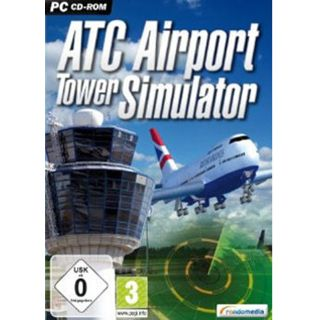 ATC Airport Tower-Simulator CD-Rom (PC)