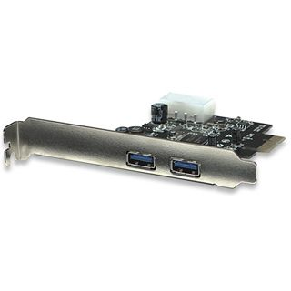 Manhattan 150491 2 Port PCIe x1 inkl. Low Profile Slotblech retail