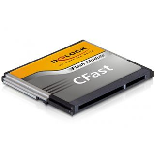 8 GB Delock CFast Compact Flash TypI 350x Bulk
