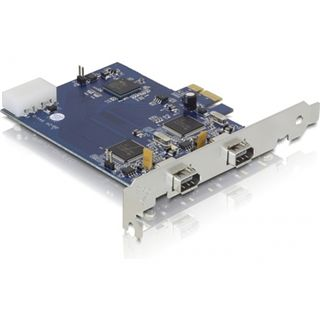 Delock 89172 2 Port PCIe x1 retail