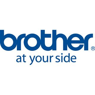 Brother Lam.Band 24mm rot/schwarz