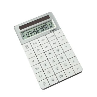 Canon X Mark 1 Calculator weiss