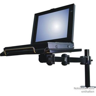 Newstar NewStar NOTEBOOK ARM schwarz retail