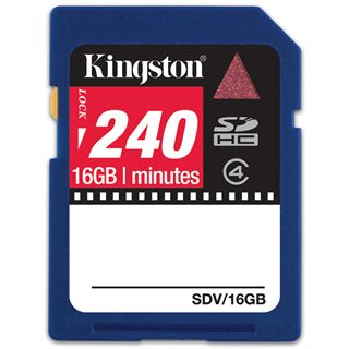 16 GB Kingston Video SDHC Class 4 Bulk
