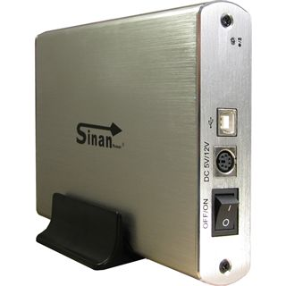 "Inter-Tech SinanPower G-3500 3.5"" (8,89cm) USB 2.0 silber"