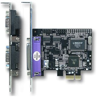 Longshine I/O PCI-Express LCS-6322M 1x parallel, 2x seriell
