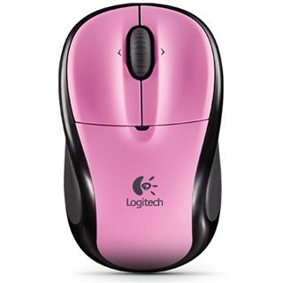 Logitech Wireless M305 Rose Optische Maus Pink USB