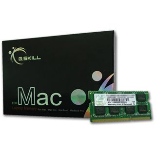 8GB G.Skill Mac Series DDR3-1066 SO-DIMM CL7 Dual Kit