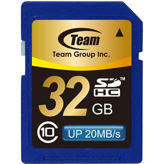 32GB TeamGroup SDHC Card Class 10
