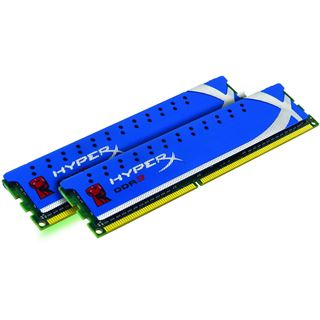 4GB Kingston HyperX DDR3-1600 DIMM CL9 Dual Kit
