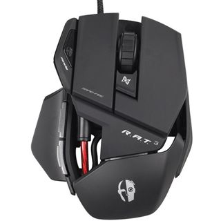 Mad Catz Cyborg R.A.T 3 Gaming Mouse USB matt black (kabelgebunden)