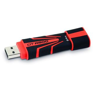 64 GB Kingston DataTraveler R500 rot/schwarz USB 2.0