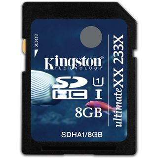8 GB Kingston UltimateXX SDHC UHS-I Retail